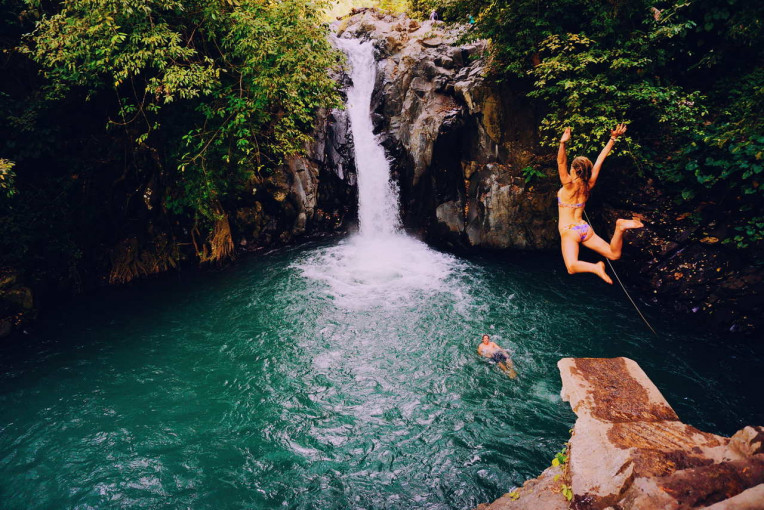O que fazer em Bali - Indonesia - CachoeiraAling-Aling Waterfall- Sambangan