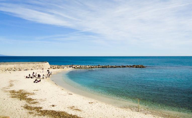 Viajar para Riviera Francesa - Melhores lugares - Plage de la Gravette - Antibes