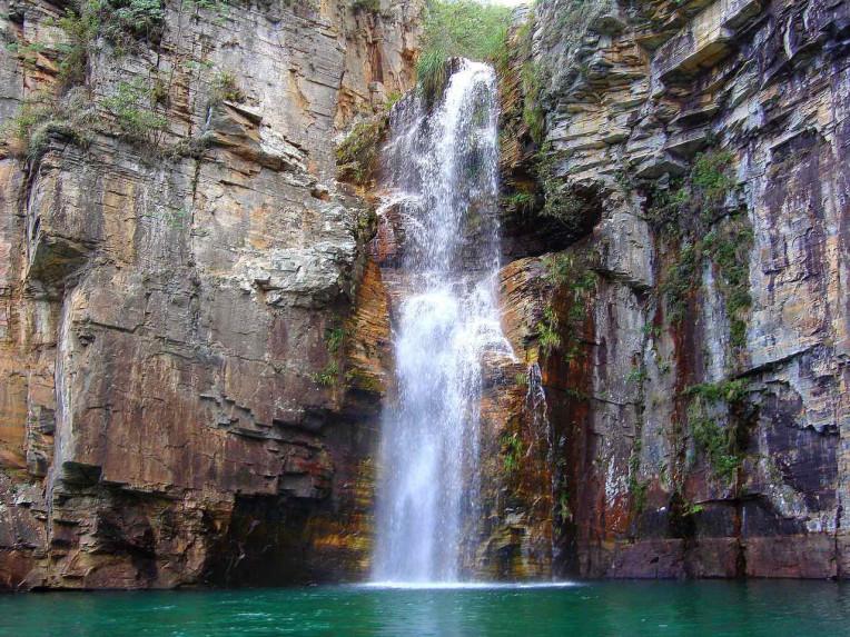 Camping em Capitólio MG - Cachoeira Diquada