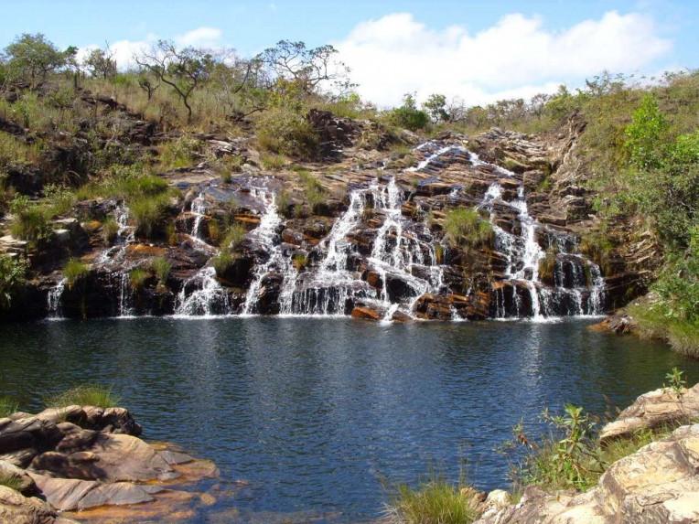 Lugares para Camping em Minas Gerais - Cachoeira Paraíso - Delfinópolis