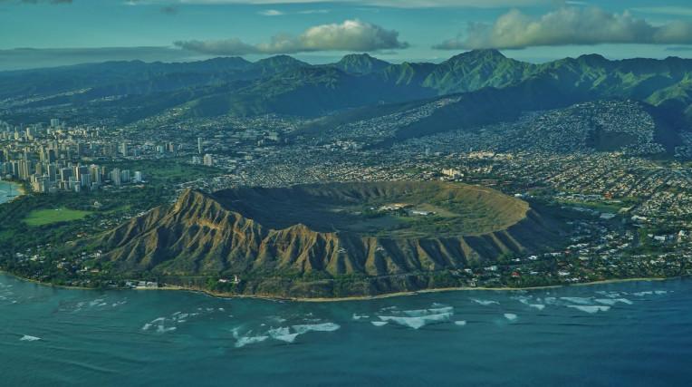 Ilha de Oahu - Havaí - Diamond Head Trilha