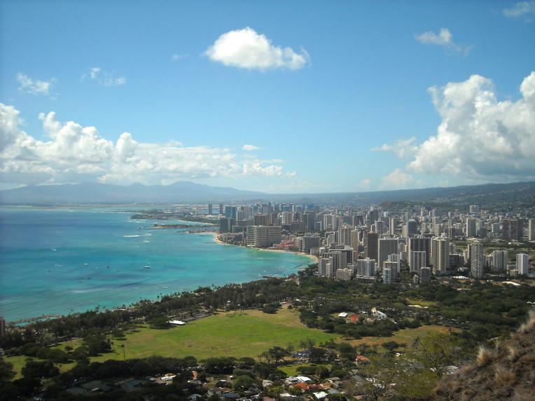 Ilha de Oahu - Havaí - Lado Sul