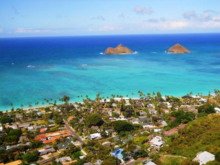 Ilha de Oahu - Havaí - Lanikai Pillbox Trilha
