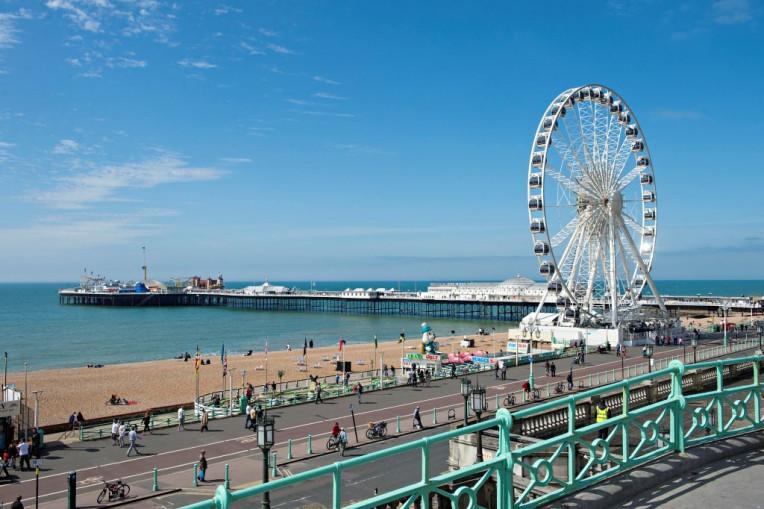 Mochilao Europa - Brighton Reino Unido