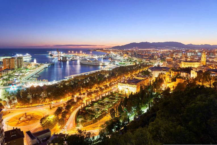Mochilao Europa - Malaga Espanha