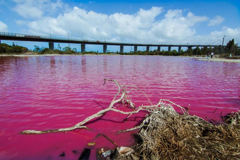 Lugares Incríveis Austrália - Pink Lake