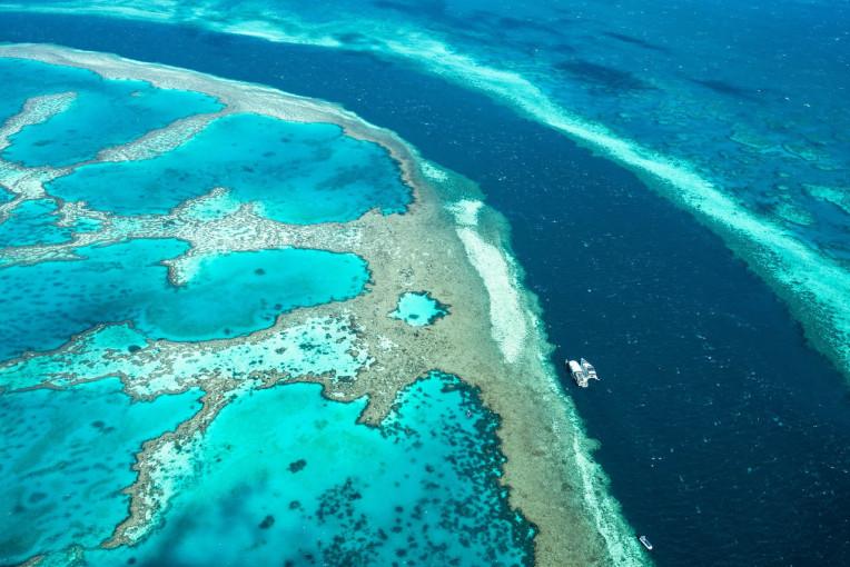 Lugares imperdíveis Austrália - Great Barrier Reef
