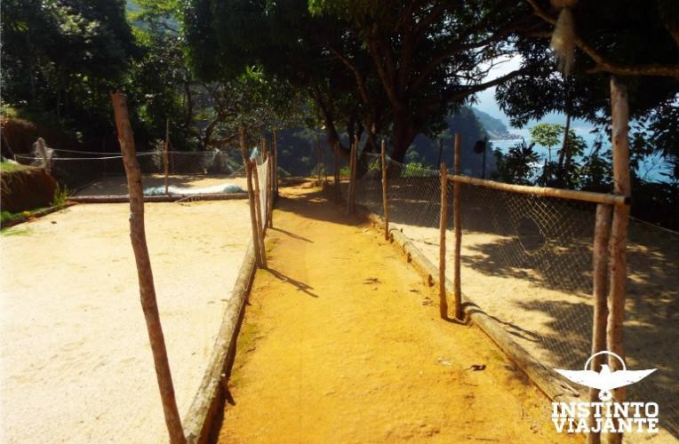 Camping em Cairuçu das Pedras, Paraty-RJ
