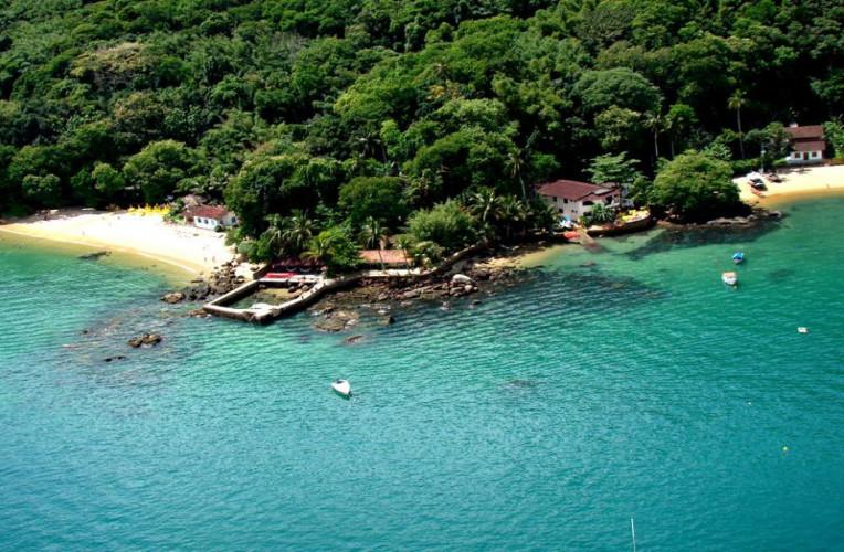 Praia da Júlia, Ilha Grande, Brasil