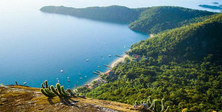 Mirante do Bananal, Ilha Grande, Brasil