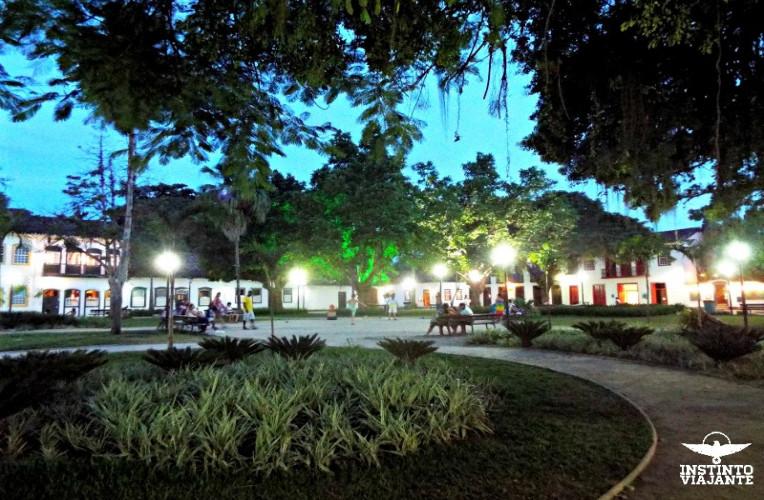 Praça da Matriz, Paraty, RJ, Brasil