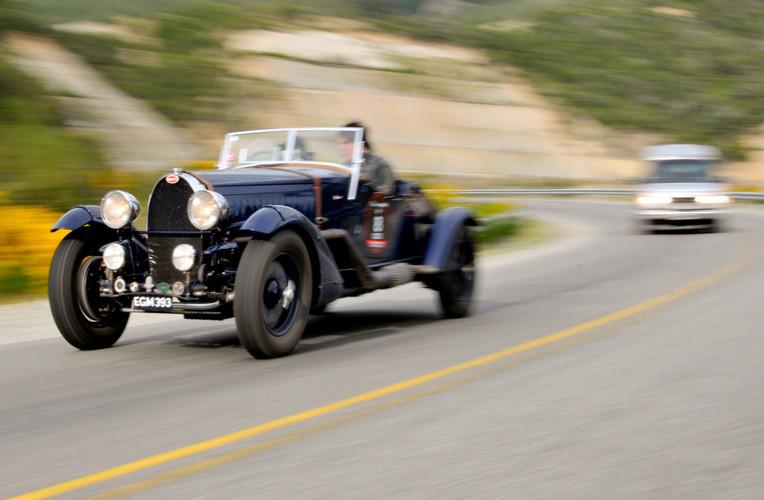 Competencia 1000 Millas Sport, corrida de carros antigos de Bariloche, Argentina