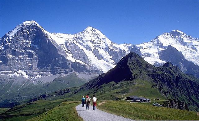 Altitude nos alpes suiços