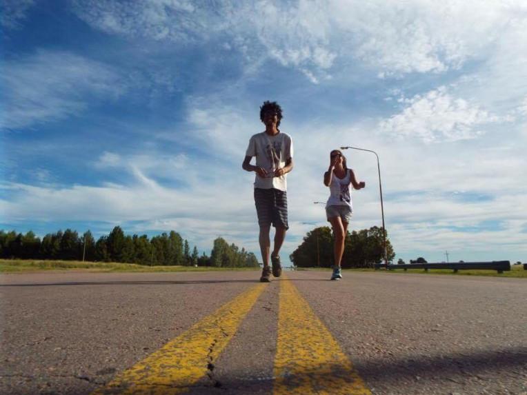 Bernardo e Isabela na estrada