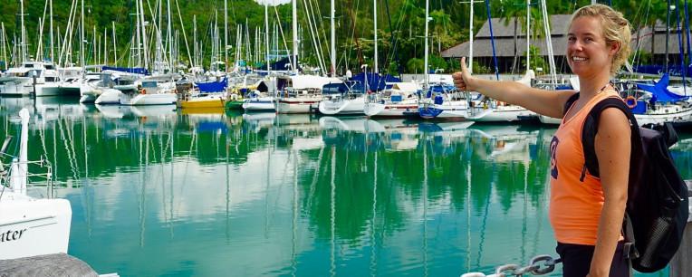 Viajando de carona em barcos e veleiros. Foto: oceanxploration.com