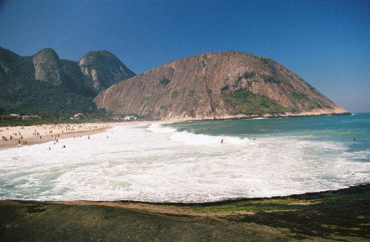 Praia de Itacoatiara no Rio de Janeiro
