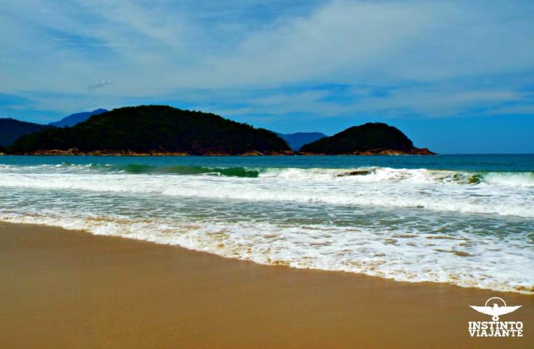 Praia do Cachadaço, Trindade, Paraty, RJ, Brasil